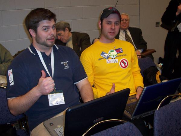 CPC2005plenarybloggers.JPG