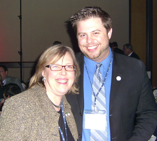 Stephen Taylor and Elizabeth May