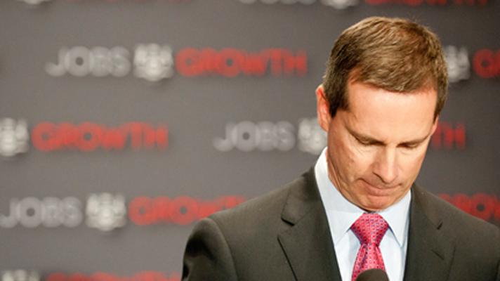 Dalton McGuinty resigns