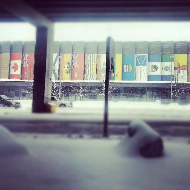 Macdonald-Cartier International Airport in Ottawa.