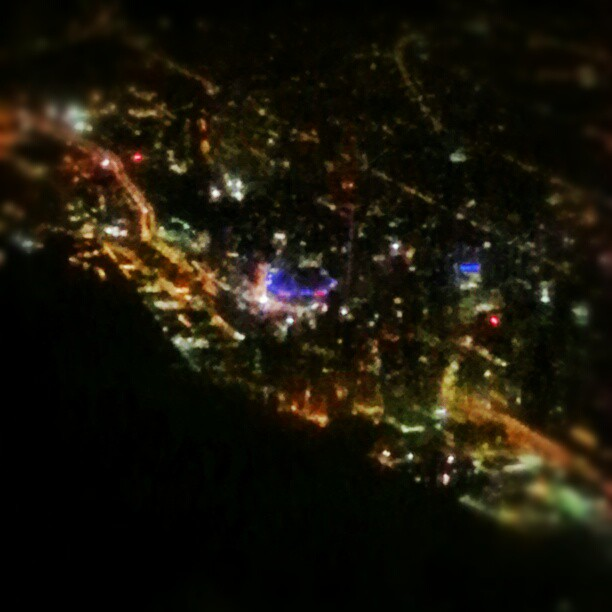 Toronto from the plane.