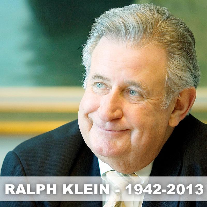 Stephen Harper's remarks about Ralph Klein