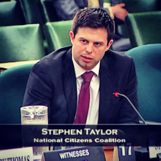 Testify! Talking about the CBC before the Ethics committee at the Parliament of Canada