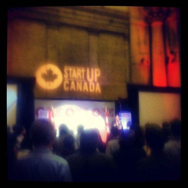 Brett Wilson speaks at StartUP Canada event in Ottawa