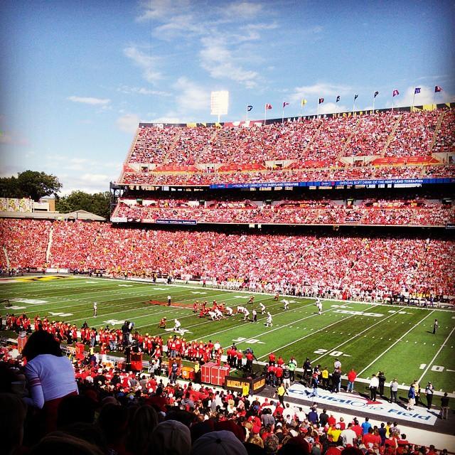 Ohio State crushes the University of Maryland