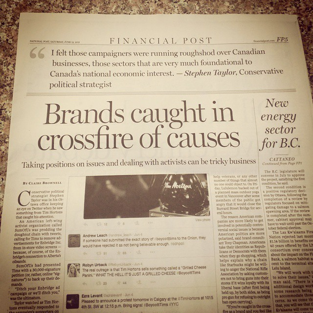 In today's Financial Post. @nationalpost