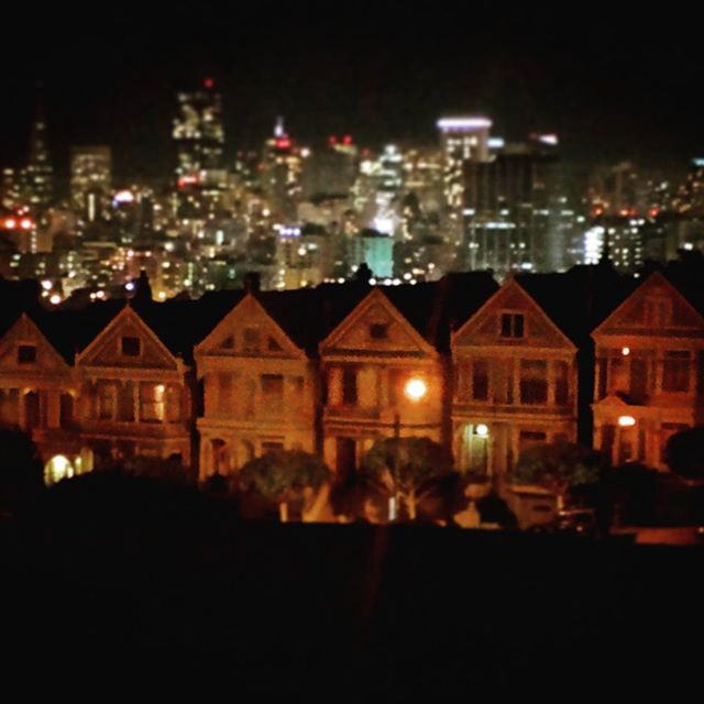 """What ever happened to predictability""? It took this picture on a trip to San Francisco."