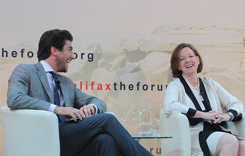 Alison Redford at the 2012 Halifax forum